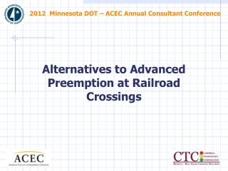 2012  Minnesota DOT – ACEC Annual Consultant Conference