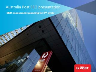 Australia Post EEO presentation