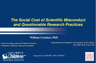 The Social Cost of Scientific Misconduct and Questionable Research Practices