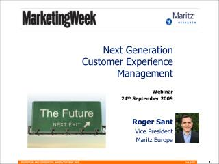 Next Generation  Customer Experience Management