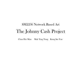 SM2236 Network Based Art