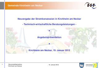 Gemeinde Kirchheim am Neckar