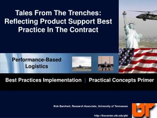 Tales From The Trenches: Reflecting Product Support Best Practice In The Contract