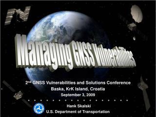 Managing GNSS Vulnerabilites