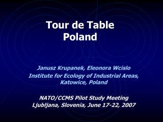 Tour de Table  Poland