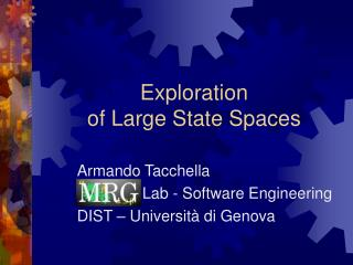 Exploration  of Large State Spaces