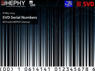 SVD Serial Numbers