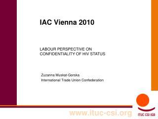 IAC Vienna 2010