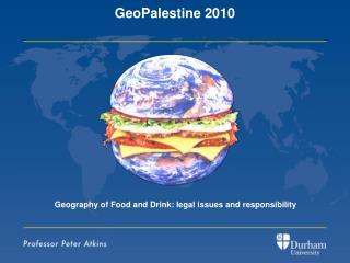 Geography of Food and Drink: legal issues and responsibility