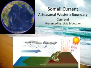 Somali Current A Seasonal Western Boundary Current Presented by: Livia Montone