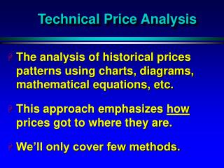 Technical Price Analysis