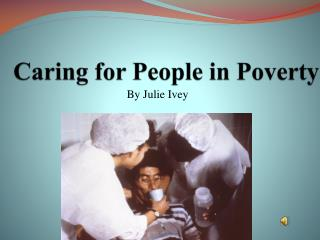 Caring for People in Poverty