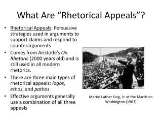 "What Are ""Rhetorical Appeals""?"