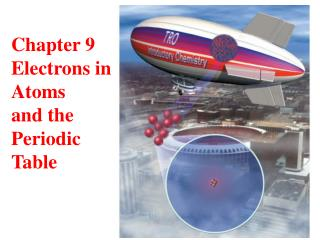 Chapter 9 Electrons in  Atoms and the Periodic  Table