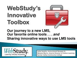 WebStudy�s Innovative  Toolbox