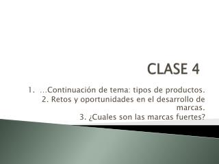 CLASE 4