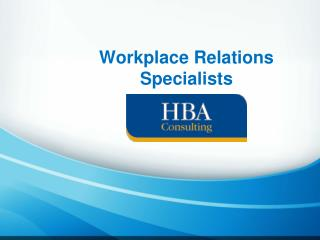 Workplace Relations Specialists