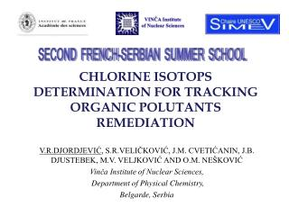 CHLORINE ISOTOPS DETERMINATION FOR TRACKING ORGANIC POLUTANTS REMEDIATION