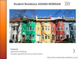 Student Residence ADAMS MORGAN