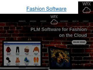 Fashion software