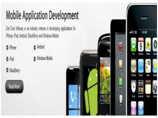 Mobile Application Development By GOIGI