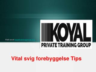 The Koyal Group Private Training Services - Vital svig