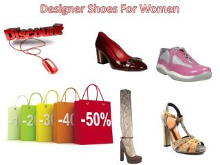 Designer Shoes For Women With Huge Discount at DellaModa.com