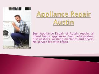 Dishwasher Repair Austin