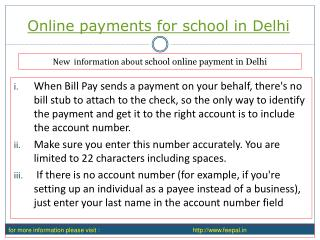 Ideas to acquire the most effective online payment for schoo