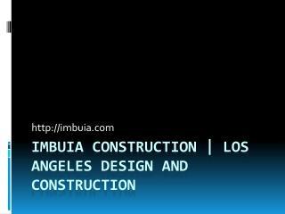 Residential Design Sherman Oaks CA