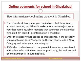 The best guide for online payment for school in Ghaziabad