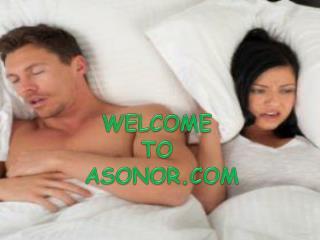 Reduce Snoring