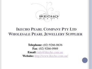Mabe Pearl Jewellery - Ikecho Pearls