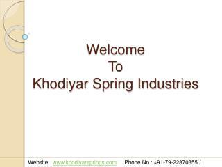 Torsion Springs | Torsion Springs Manufacturer | Supplier