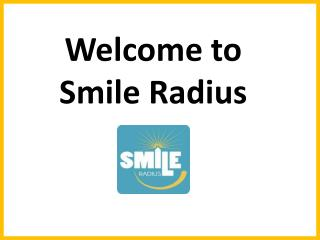 Complete List of Dental Services Offered By SmileRadius.com