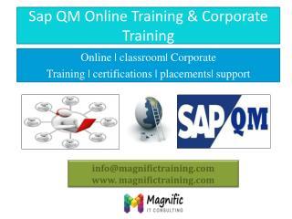 sap Qm online training in india,usa,uk,australia