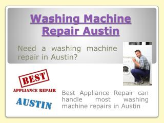 Dryer Repair Austin