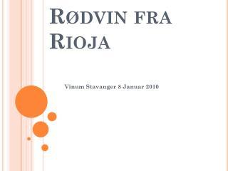 R dvin fra Rioja