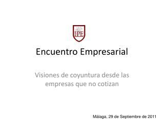 Encuentro Empresarial