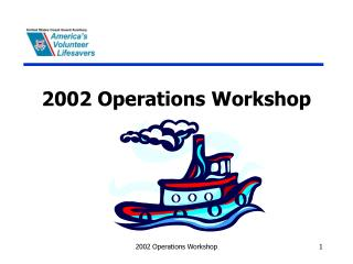 2002 Operations Workshop