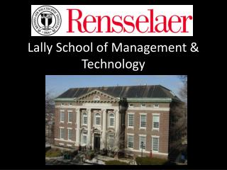 Lally  School of Management & Technology