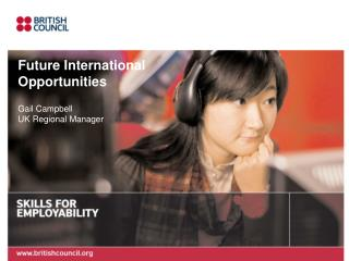 Future International  Opportunities  Gail Campbell UK Regional Manager