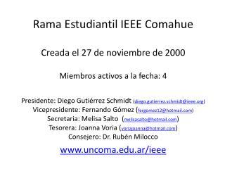 Rama Estudiantil IEEE Comahue