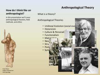 How do I think like an anthropologist?