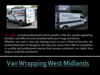 Vinyl Graphics West Midlands