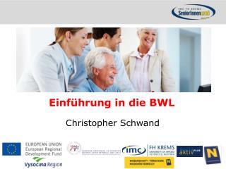 Einführung in die BWL