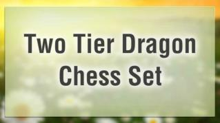 ppt 38158 Two Tier Dragon Chess Set