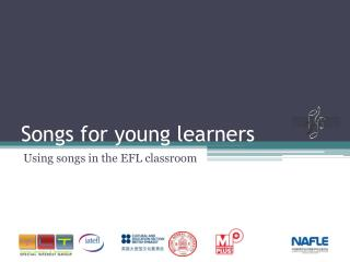 Songs for young learners