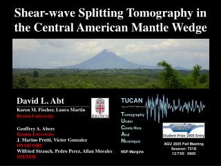 Shear-wave Splitting Tomography in the Central American Mantle Wedge