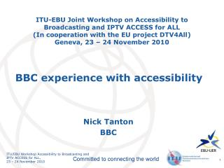 Nick Tanton BBC